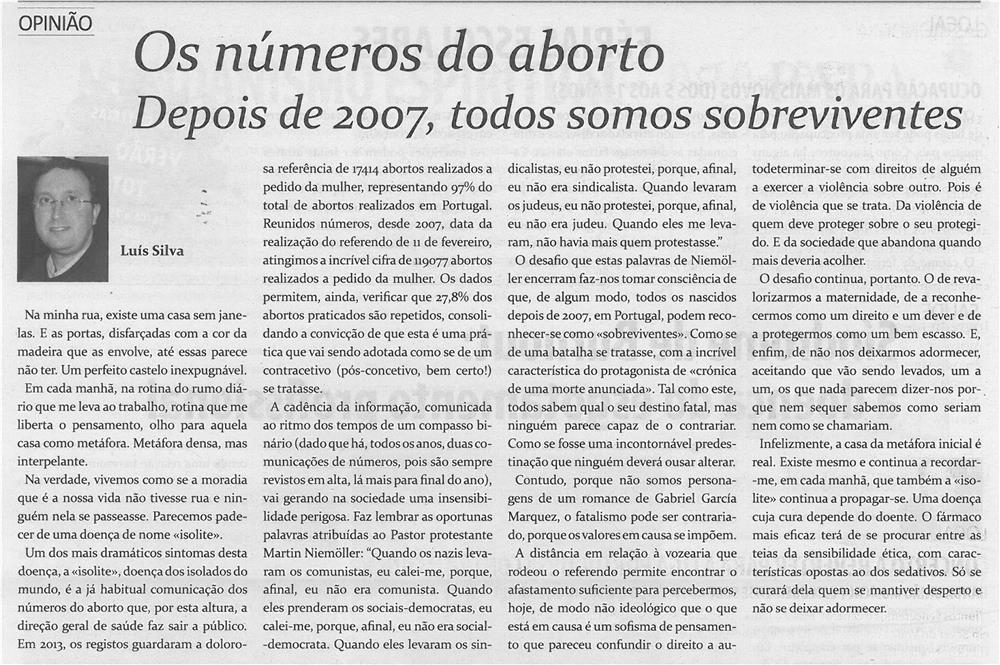 TV-jun14-p18-Os números do aborto : depois de 2007 todos somos sobreviventes
