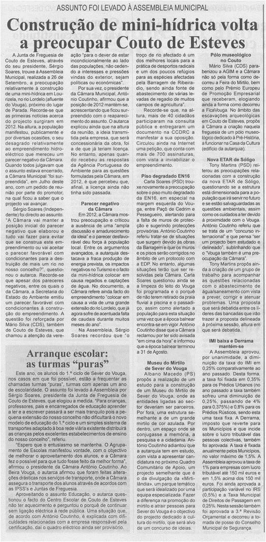 BV-1ªout'14-p3-Construção de mini-hídrica volta a preocupar Couto de Esteves : assunto foi levado à Assembleia Municipal.jpg