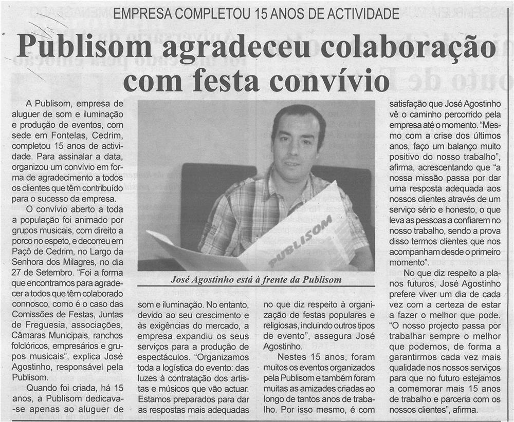 DA-1out'14-p4-Publisom agradeceu colaboração com festa convívio : empresa completou 15 anos de atividade.jpg
