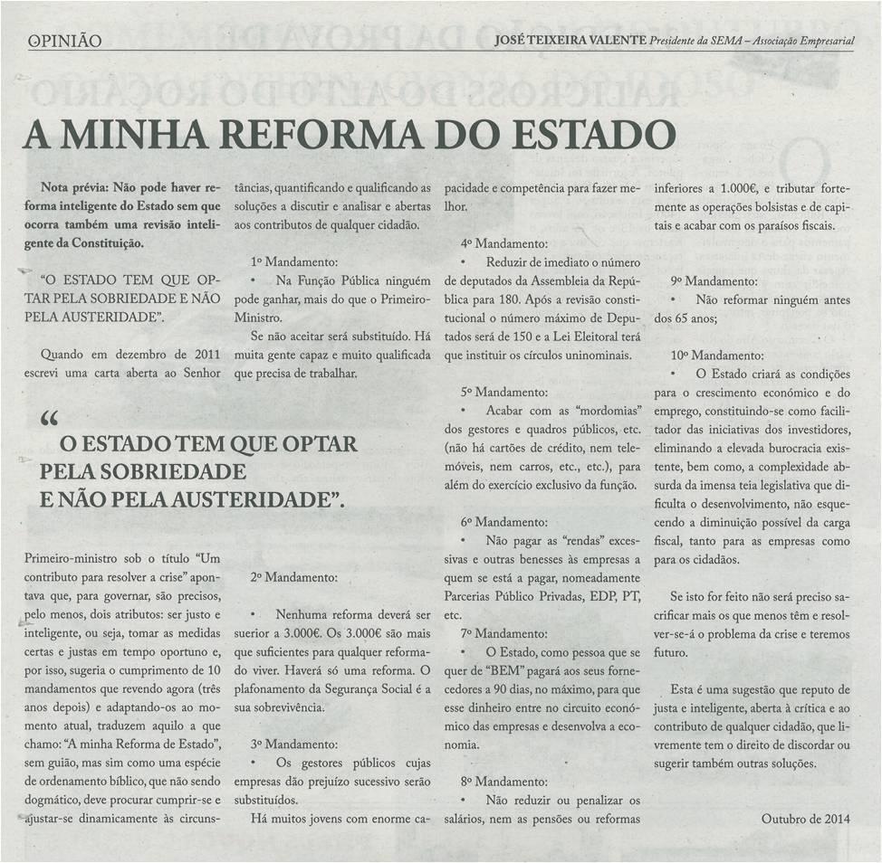EV-1out.'14-p18-A minha reforma do Estado : o Estado tem que optar pela sobriedade e não pela austeridade.jpg