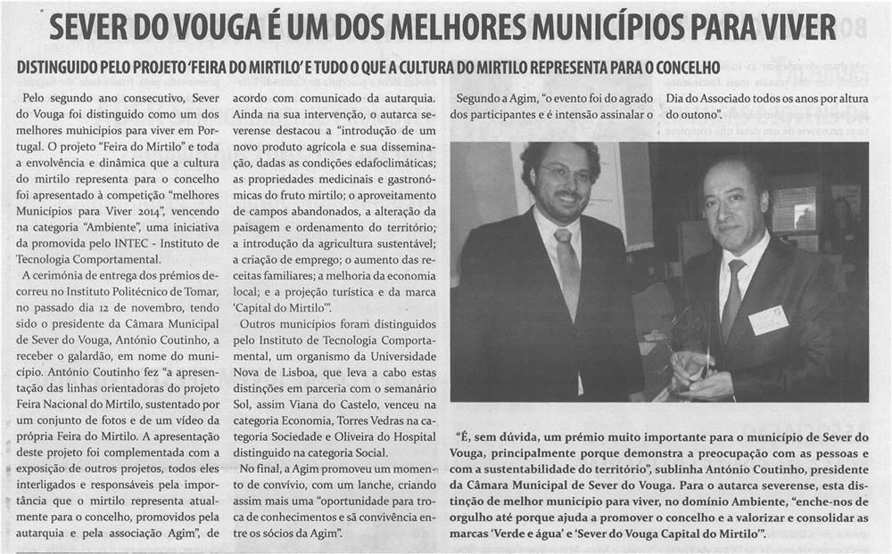 TV-dez.'14-p.9-Sever do Vouga é um dos melhores municípios para viver : distinguido pelo projeto Feira do Mirtilo e tudo o que a cultura do mirtilo representa para o concelho.jpg