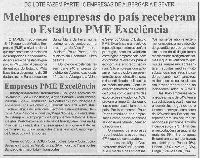 BV-1ªfev.'15-p.6-Melhores empresas do país receberam o Estatuto PME Excelência.jpg