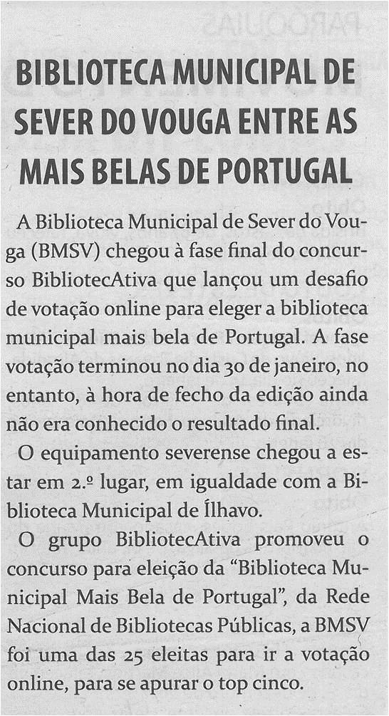 TV-fev.'15-p.11-Biblioteca Municipal de Sever do Vouga entre as mais belas de Portugal.jpg