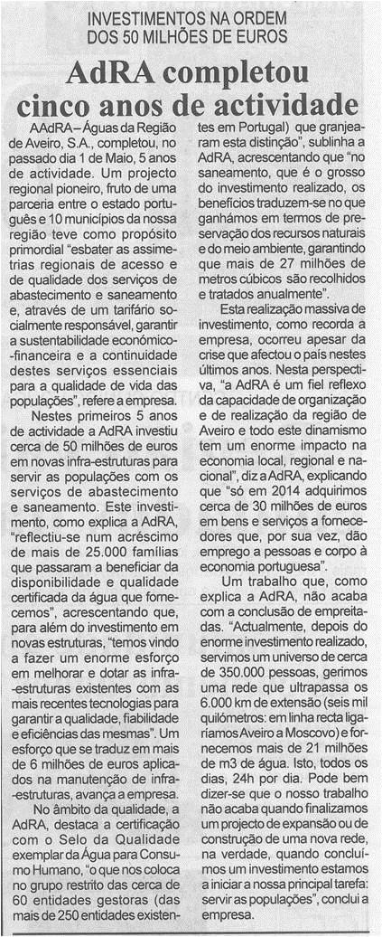 BV-1.ªmaio'15-p.2-AdRA completou cinco anos de atividade : investimentos na ordem dos 50 milhões de euros.jpg