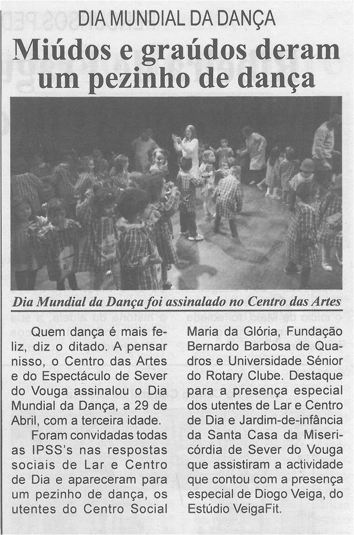 BV-1.ªmaio'15-p.5-Miúdos e graúdos deram um pezinho de dança:Dia Mundial da Dança.jpg