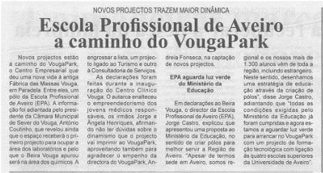 BV-2.ªmaio'15-p.3-Escola Profissional de Aveiro a caminho do VougaPark : novos projetos trazem maior dinâmica.jpg