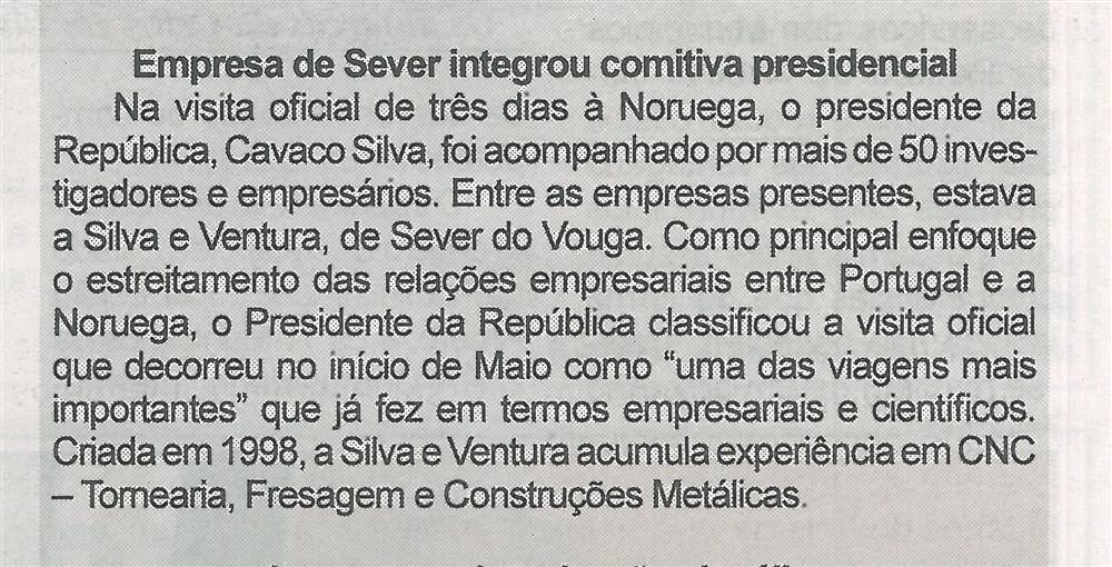 BV-2.ªmaio'15-p.8-Empresa de Sever integrou comitiva presidencial.jpg