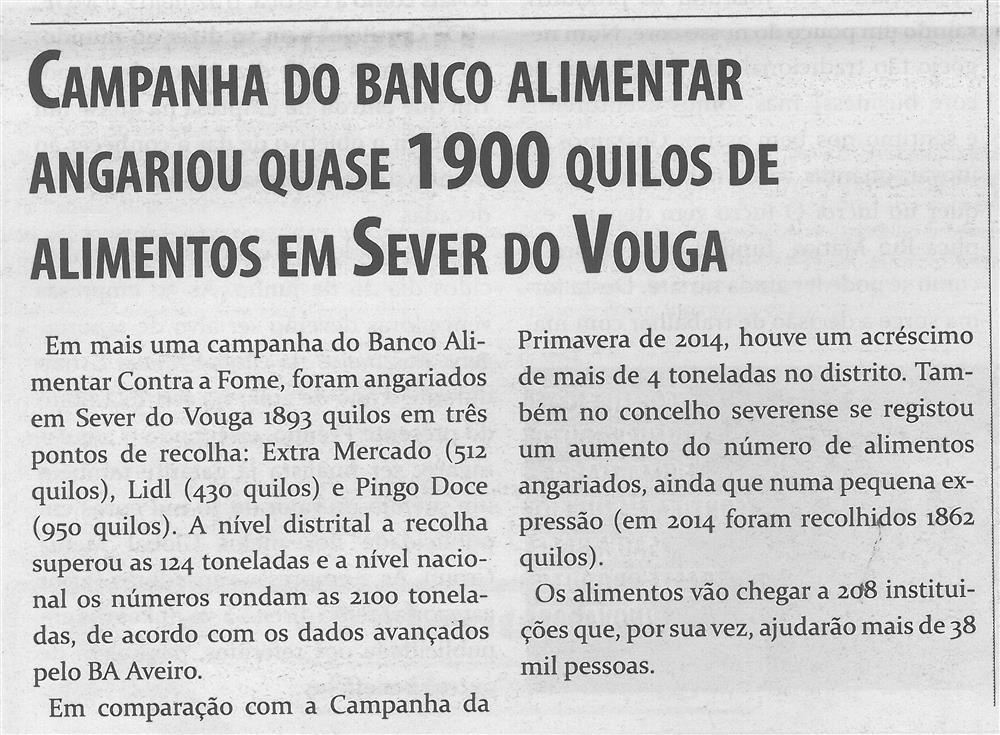 TV-jun'15-p6-Campanha do Banco Alimentar angariou quase 1900 quilos de alimentos em Sever do Vouga.jpg