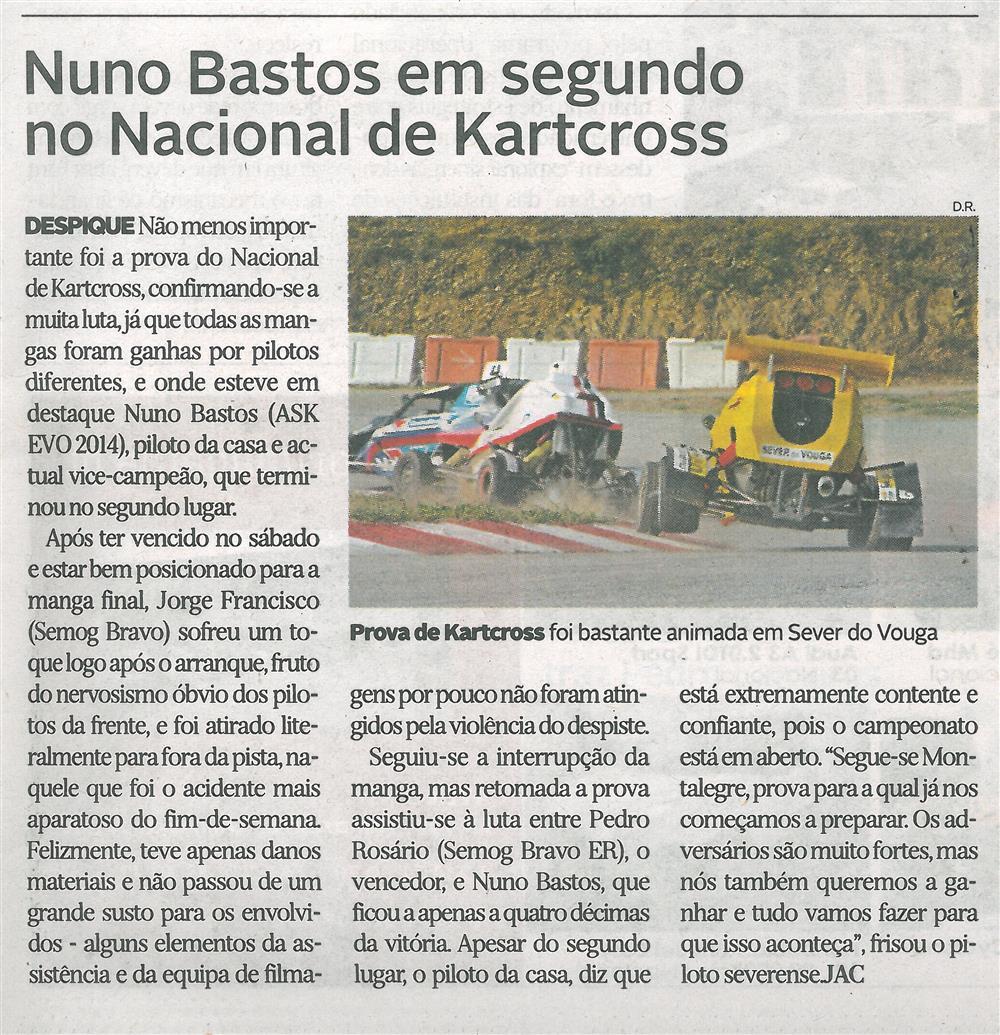 DA-8jul.'15-p.31-Nuno Bastos em segundo no Nacional de Kartcross.jpg