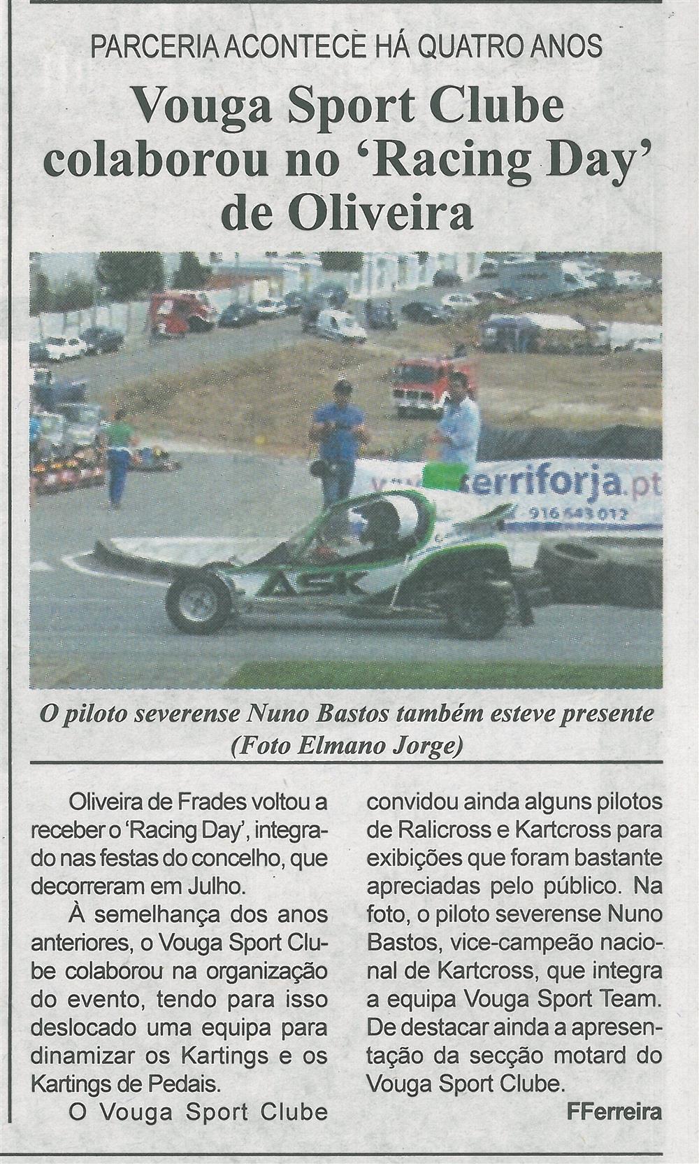 BV-1.ªago'15-p.8-Vouga Sport Clube colaborou no Racing Day de Oliveira : parceria acontece há quatro anos.jpg