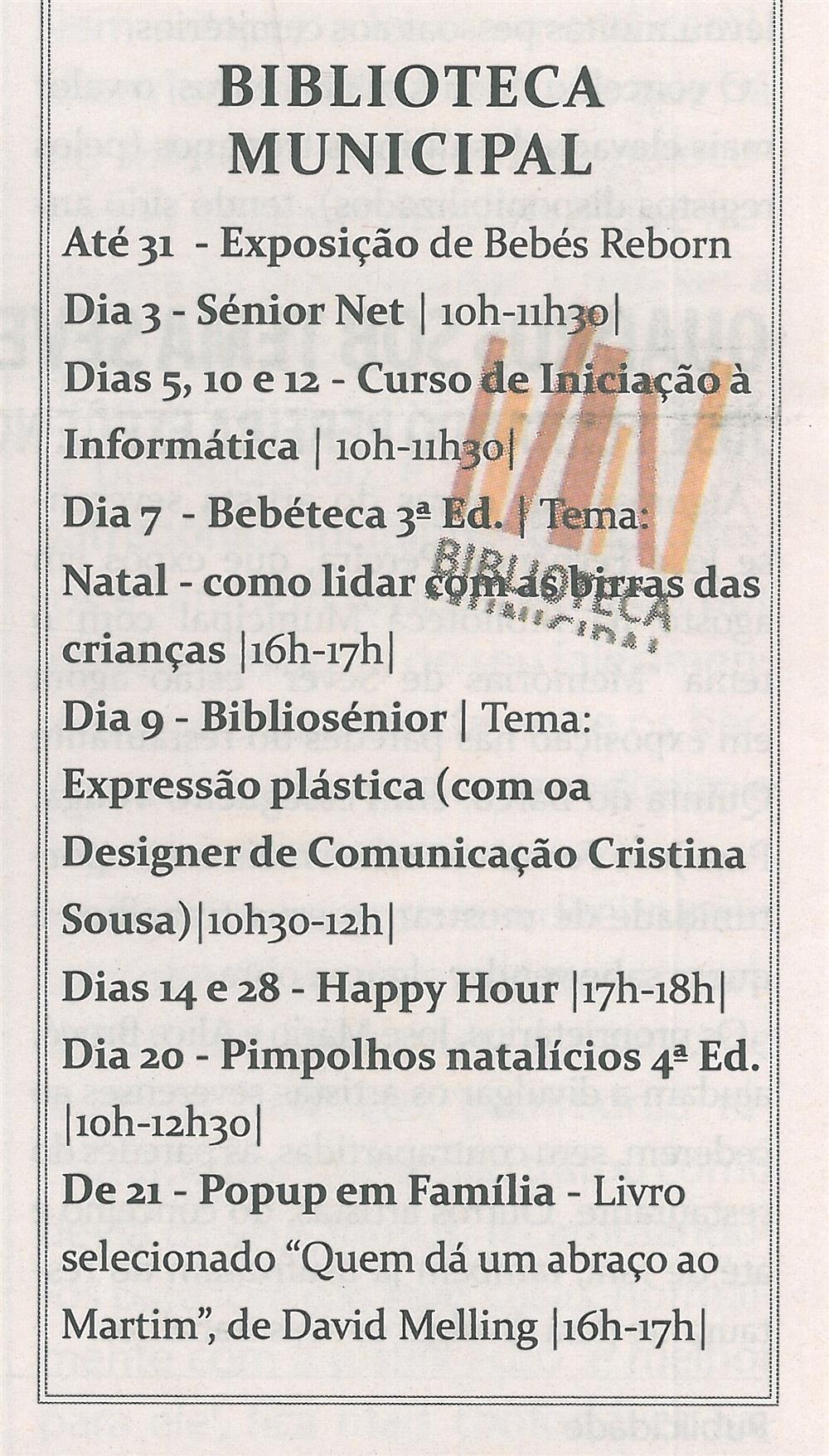 TV-dez.'13-p.19-Cultura em Sever : dezembro : Biblioteca Municipal.jpg