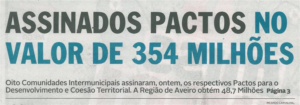 DA-01set.'15-p.1-Assinados pactos no valor de 354 milhões.jpg