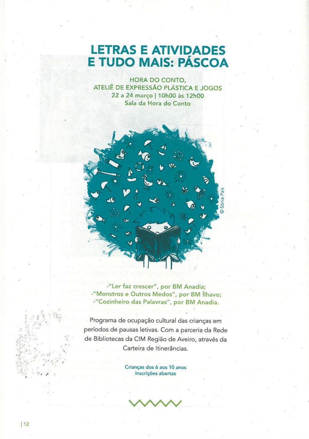 ACMSV-jan.,fev.,mar.'16-p.12-Letras e atividades e tudo mais : Páscoa : Hora do Conto : ateliê de expressão plástica e jogos.jpg