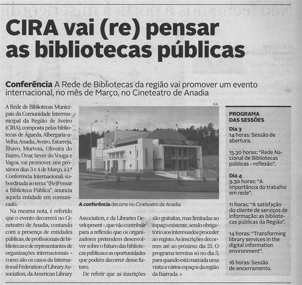DA-10fev.'16-p.12-CIRA vai repensar as bibliotecas públicas : a rede de bibliotecas da região vai promover um evento internacional no mês de março : no Cineteatro de Anadia.jpg