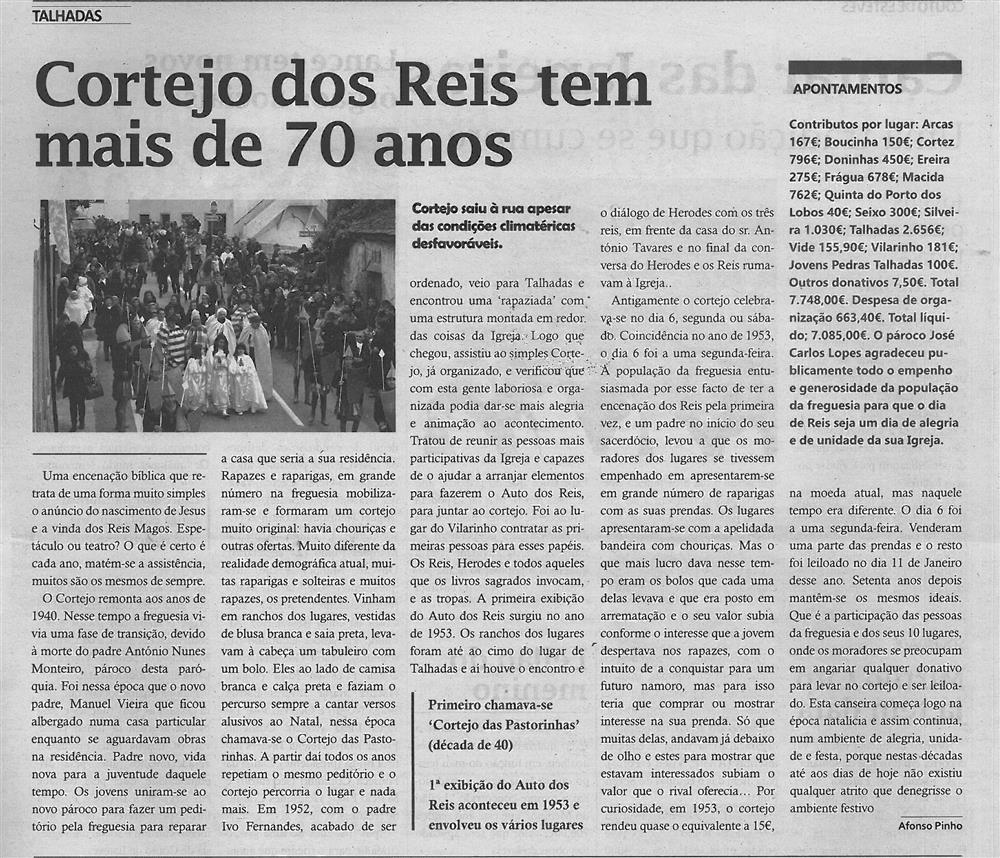 TV-fev.'16-p.7-Talhadas : Cortejo dos Reis tem mais de 70 anos : primeiro chamava-se Cortejo das Pastorinhas.jpg