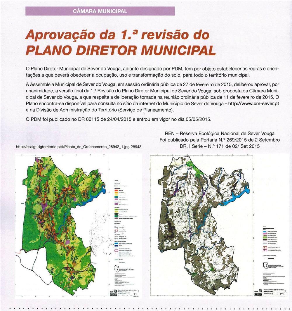 BoletimMunicipal-n.º32-nov.'15-p.2-Aprovação da 1.ª revisão do Plano Diretor Municipal : Câmara Municipal.jpg