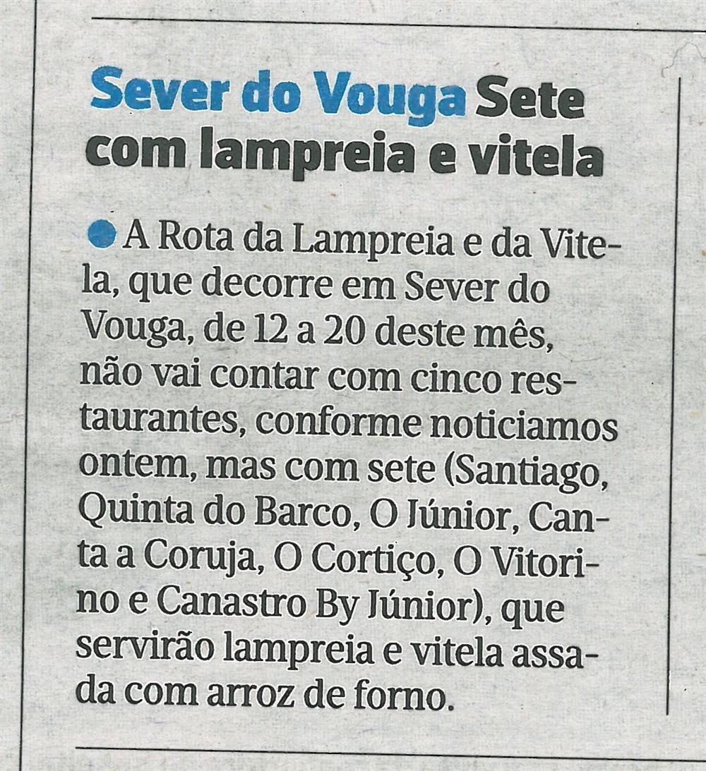 JN-11mar.'16-p.26-Sever do Vouga : sete com lampreia e vitela.jpg
