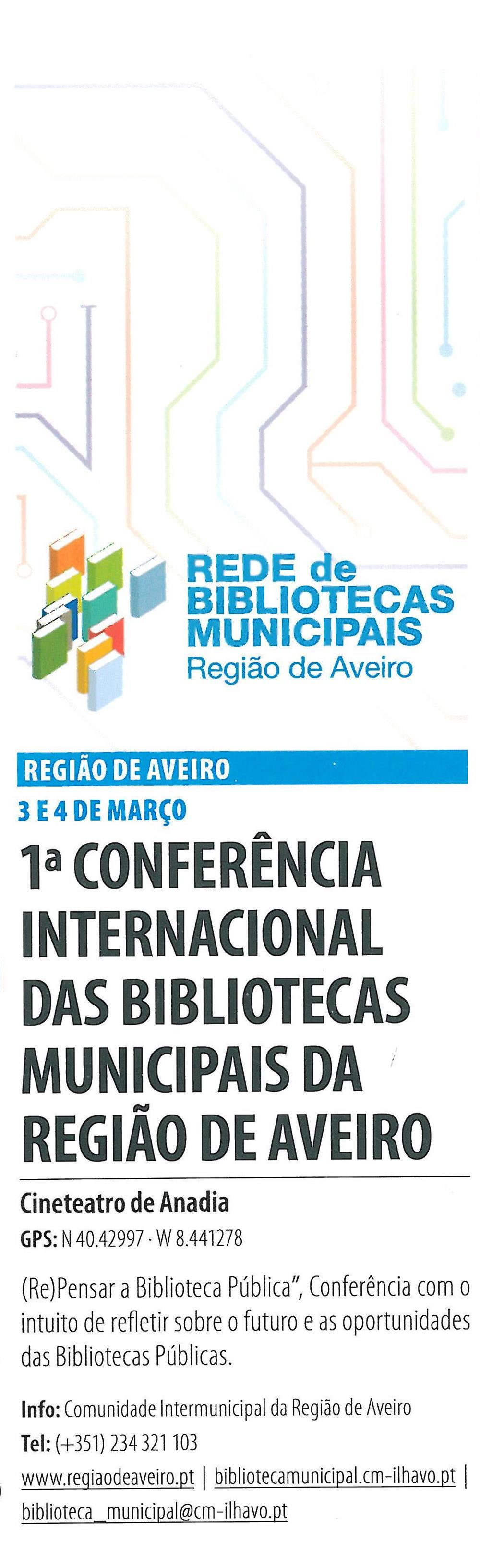 RA-Agenda-mar.'16-p.1-1.ª Conferência Internacional das Bibliotecas Municipais da Região de Aveiro : Rede de Bibliotecas Municipais : Região de Aveiro.jpg