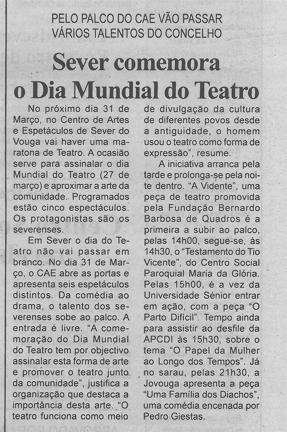 BV-2.ªMar.'16-p.3-Sever comemora o Dia Mundial do Teatro : pelo palco do CAE vão passar vários talentos do concelho.jpg