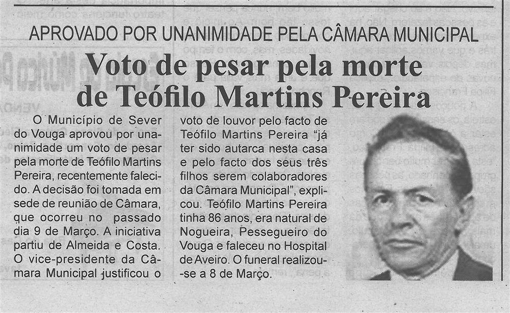 BV-2.ªMar.'16-p.4-Voto de pesar pela morte de Teófilo Martins Pereira : aprovado por unanimidade pela Câmara Municipal.jpg