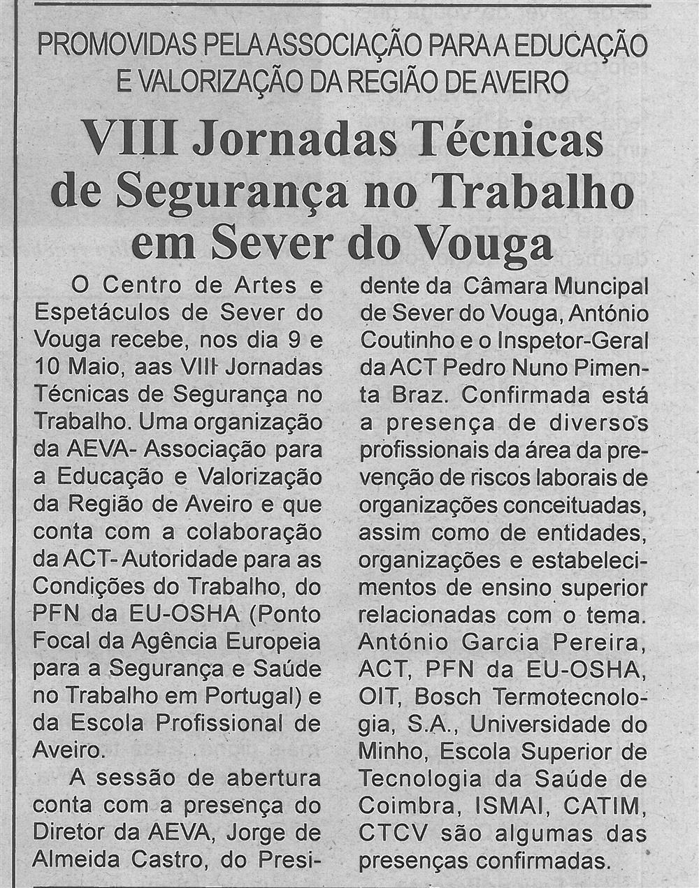 BV-1.ªmaio'16-p.6-VIII Jornadas Técnicas de Segurança no Trabalho em Sever do Vouga : promovidas pela Associação para a Educação e Valorização da Região de Aveiro.jpg