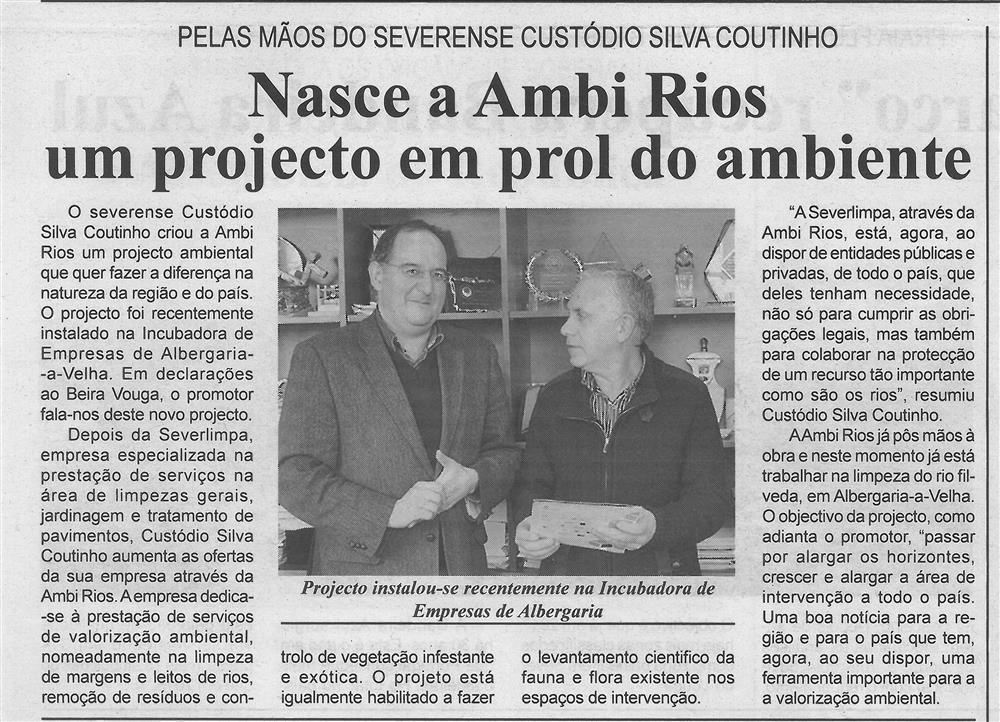 BV-1.ªmaio'16-p.7-Nasce a Ambi Rios : um projecto em prol do ambiente : pelas mãos do severense Custódio Silva Coutinho.jpg