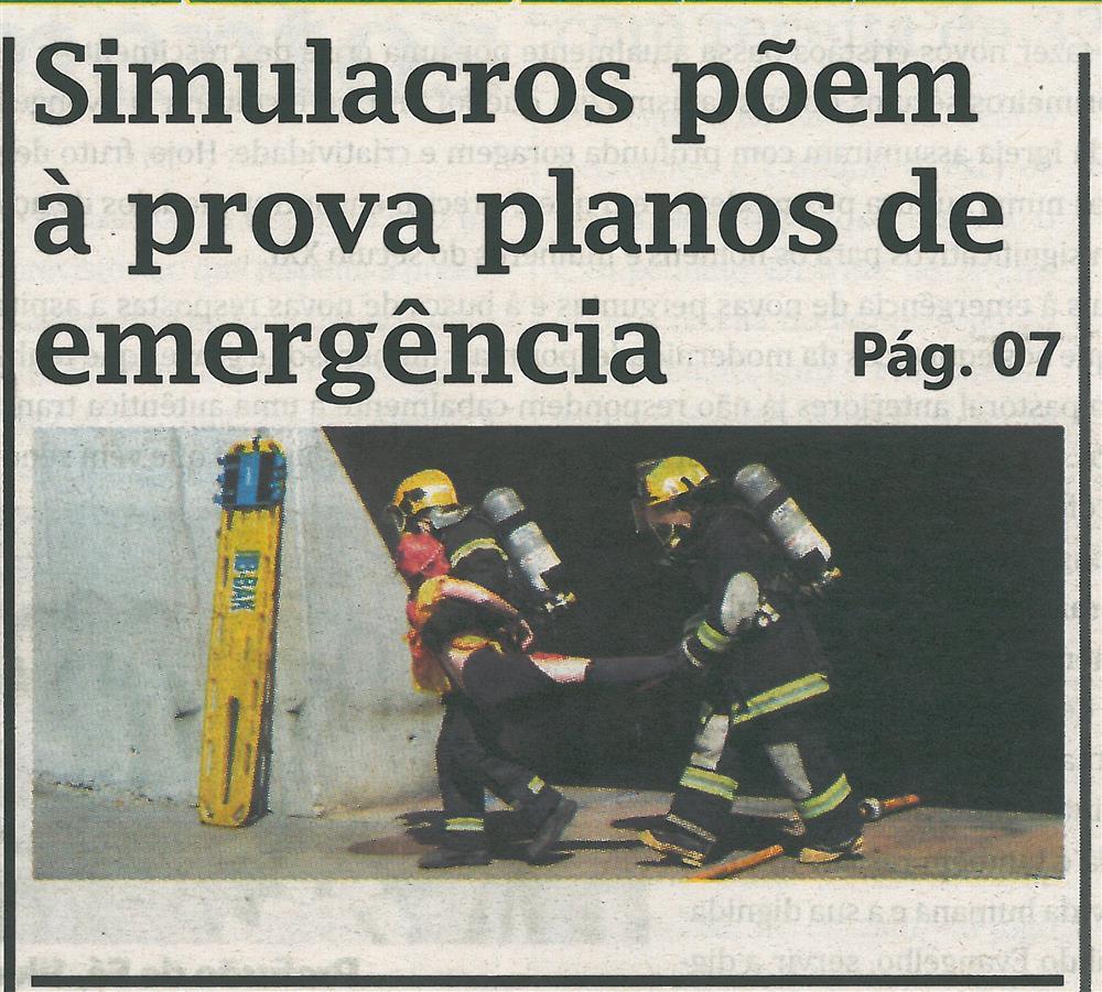 TV-jun.'16-p.1-Simulacros põem à prova planos de emergência.jpg