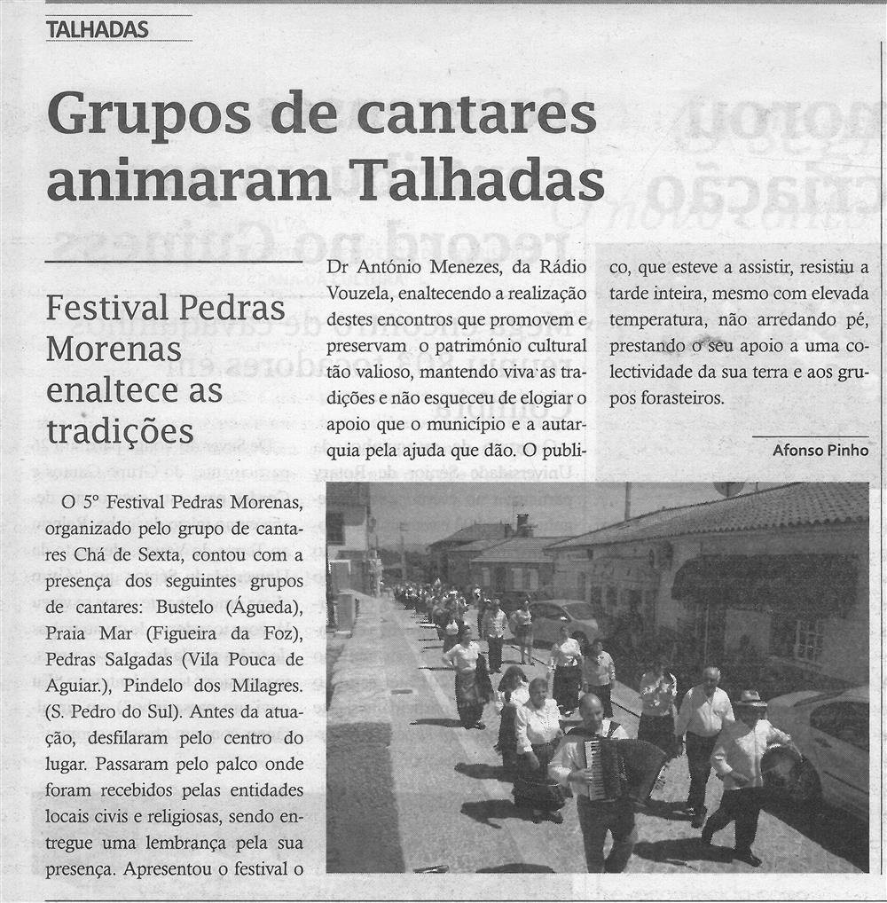 TV-ago.'16-p.6-Grupos de cantares animaram Talhadas : Festival Pedras Morenas enaltece as tradições.jpg