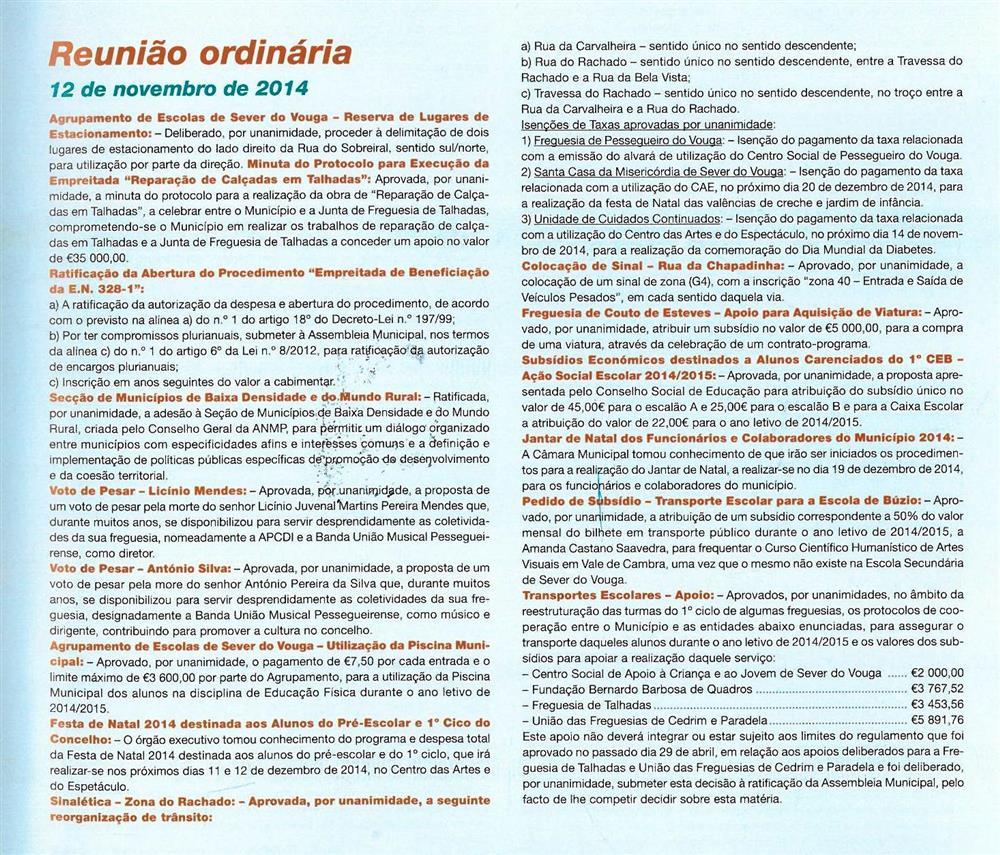 BoletimMunicipal-n.º32-nov.'15-p.59-Reunião Ordinária [de] 12 de novembro de 2014 : deliberações.jpg