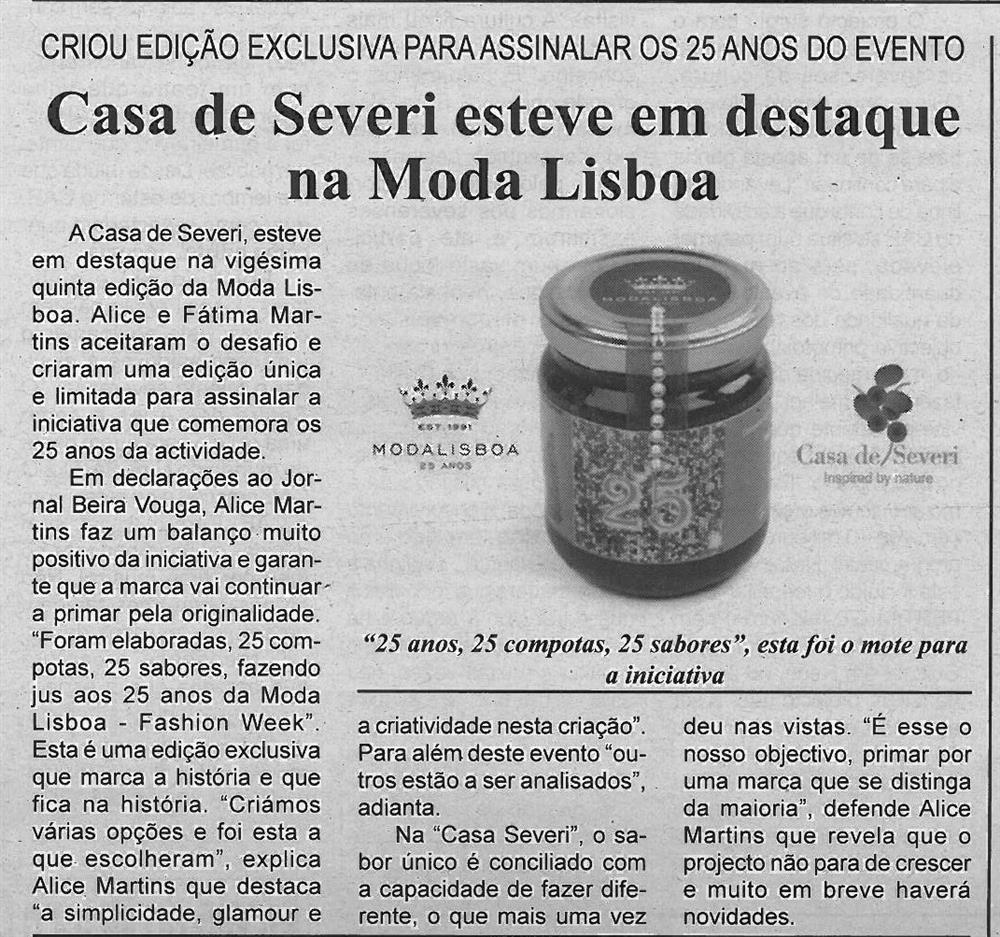 BV-2.ªnov.'16-p.4-Casa de Severi esteve em destaque na Moda Lisboa : criou edição exclusiva para assinalar os 25 anos do evento.jpg
