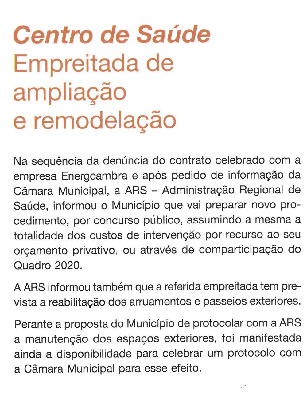 BoletimMunicipal-nº 33-nov'16-p.3-Centro de Saúde : empreitada de ampliação e remodelação.jpg