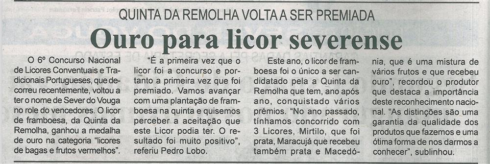 BV-1.ªabr.'17-p.2-Ouro para licor severense : Quinta da Remolha volta a ser premiada.jpg
