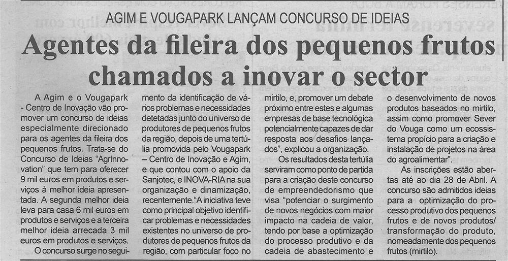 BV-1.ªabr.'17-p.3-Agentes da fileira dos pequenos frutos chamados a inovar o sector : AGIM e VougaPark lançam concurso de ideias.jpg