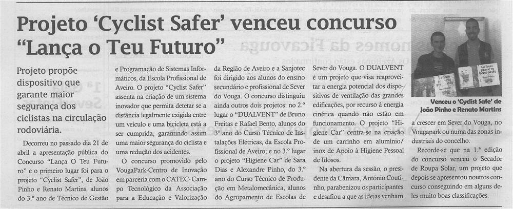 TV-maio'17-p.6-Projeto Cyclist Safer venceu concurso Lança o Teu Futuro.jpg