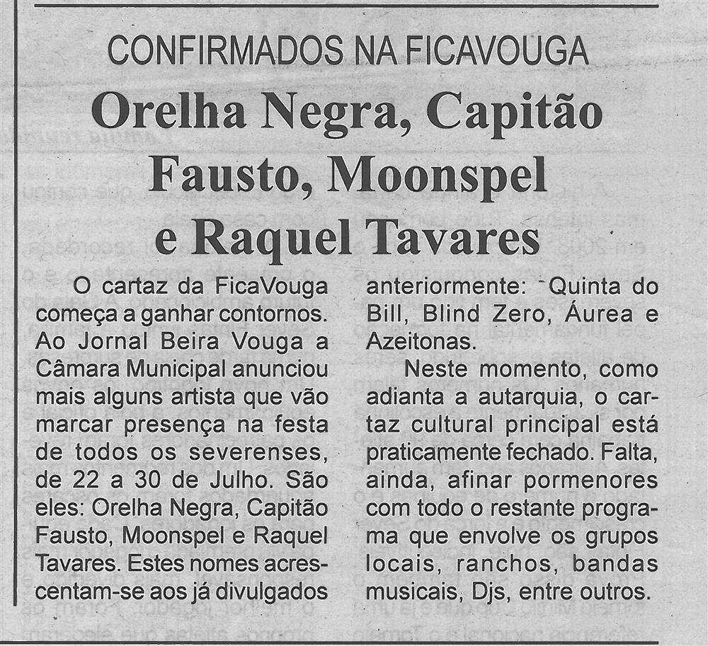 BV-1.ªjun.'17-p.5-Orelha Negra, Capitão Fausto, Moonspel e Raquel Tavares : confirmados na Ficavouga.jpg