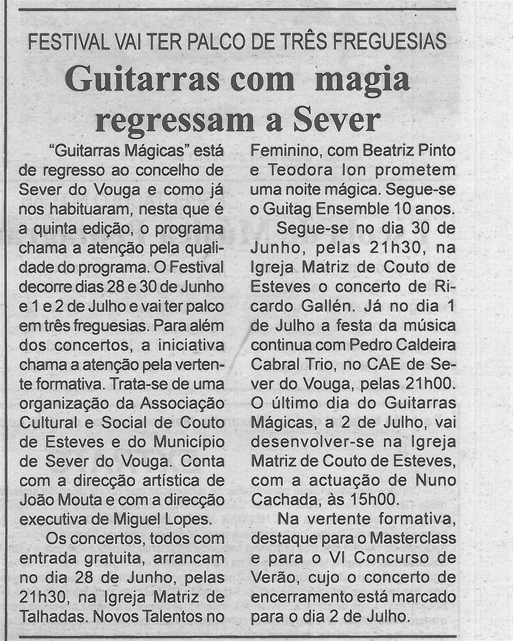 BV-2.ªjun.'17-p.5-Guitarras com magia regressam a Sever : festival vai ter palco de três freguesias.jpg