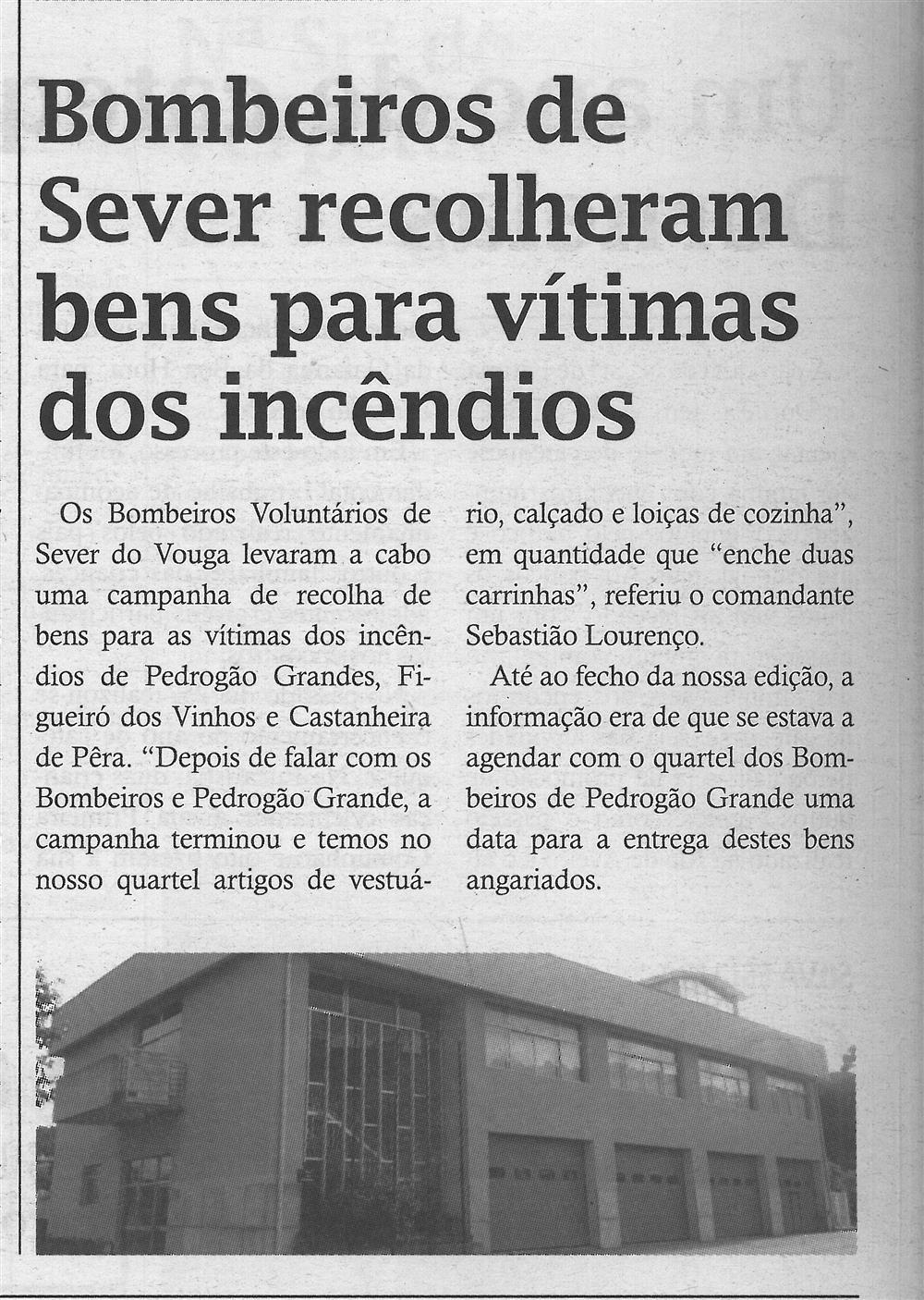TV-jul.'17-p.8-Bombeiros de Sever recolheram bens para vítimas dos incêndios.jpg