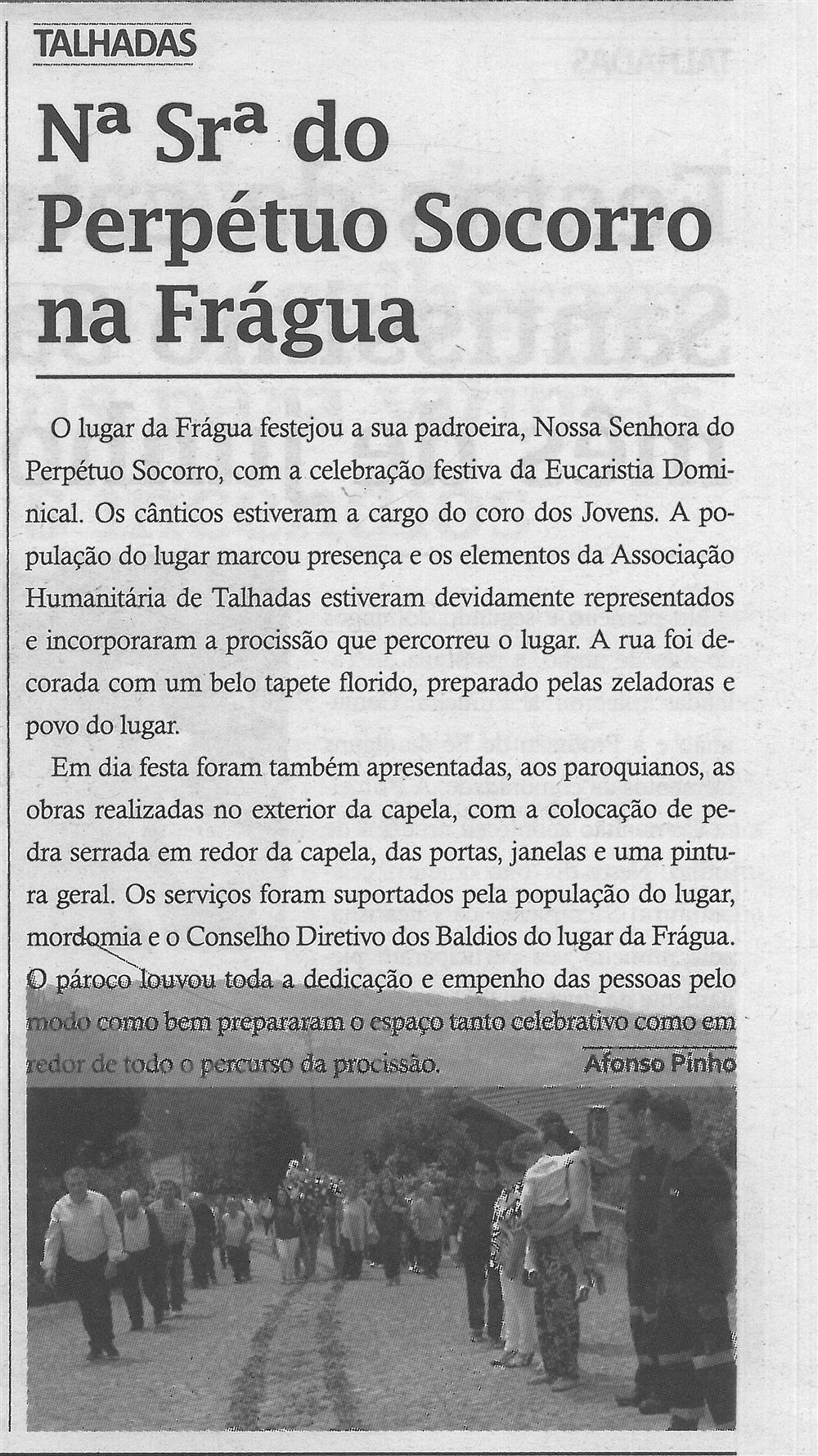 TV-jul.'17-p.14-Nossa Senhora do Perpétuo Socorro na Frágua : Talhadas.jpg