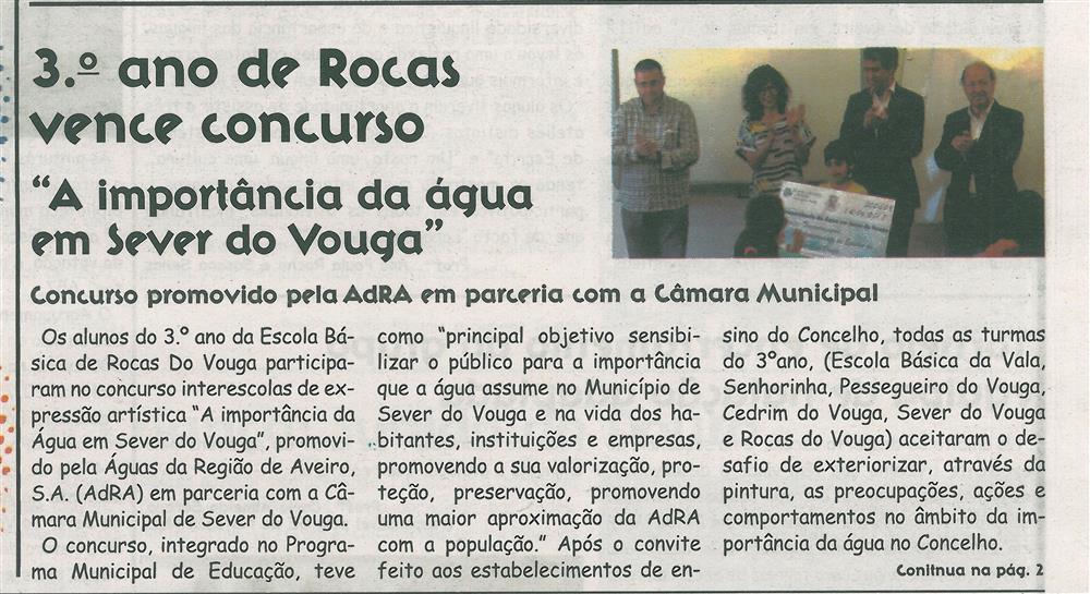 JE-jul.'17-p.1-3.º ano de Rocas vence concurso [1.ª de duas partes] : a importância da água em Sever do Vouga : concurso promovido pela AdRA em parceria com a Câmara Municipal.jpg
