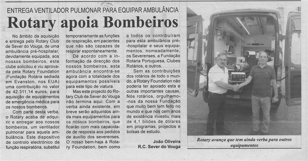 BV-1.ªout.'17-p.4-Rotary apoia Bombeiros : entrega ventilador pulmonar para equipar ambulância.jpg