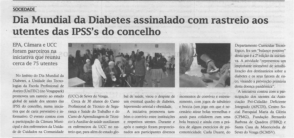 TV-dez.'17-p.4-Dia Mundial da Diabetes assinalado com rastreio aos utentes das IPSS's do concelho.jpg