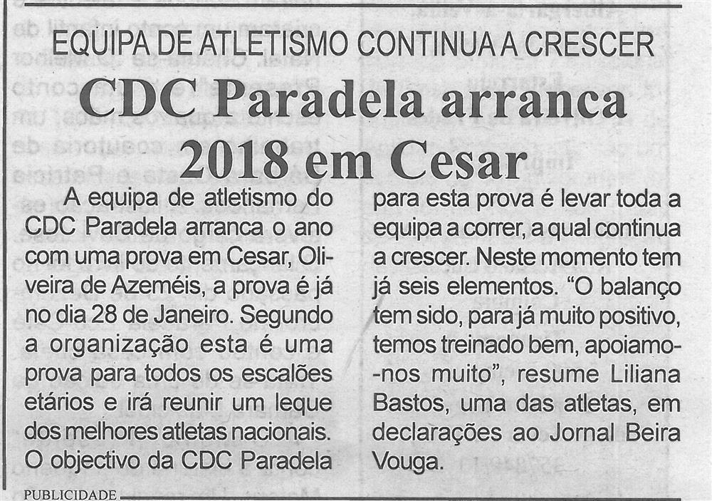 BV-2.ªjan.'18-p.3-CDC Paradela arranca 2018 em Cesar : equipa de atletismo continua a crescer.jpg