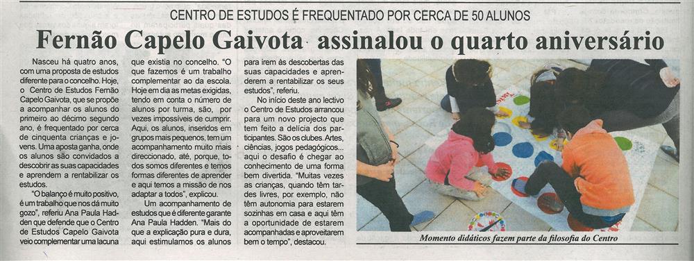 BV-1.ªfev.'18-p.8-Fernão Capelo Gaivota assinalou o quarto aniversário : Centro de Estudos é frequentado por cerca de 50 alunos.jpg