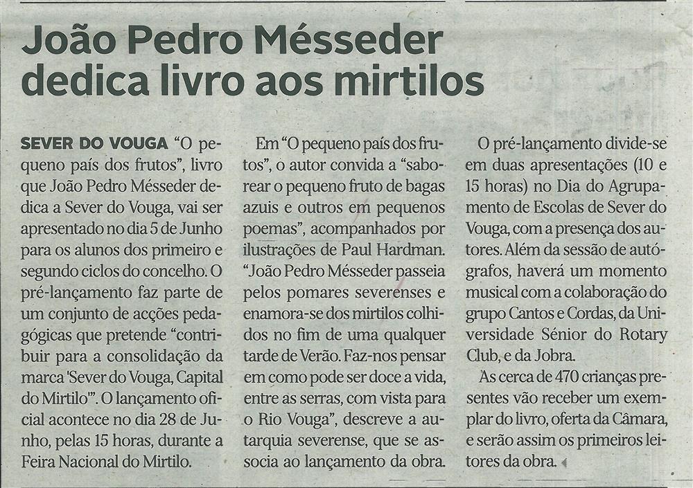DA-03jun.'18-p.14-João Pedro Mésseder dedica livro aos mirtilos.jpg