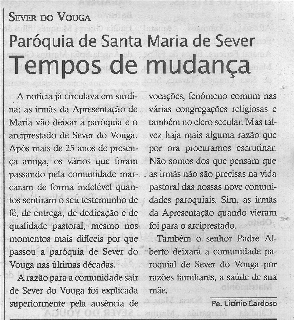 TV-jul'18-p.19-Tempos de mudança : Paróquia de Santa Maria de Sever.jpg