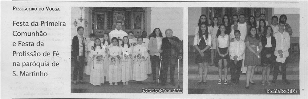 TV-jul.'18-p.15-Festa da Primeira Comunhão e Festa da Profissão de Fé na Paróquia de S. Martinho : Pessegueiro do Vouga.jpg