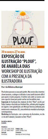 AgendaRBM-mar.'17-p.8-Biblioteca Municipal de Sever do Vouga : Exposição de ilustração Plouf, de Anabela Dias : workshop de ilustração com a presença da ilustradora.JPG
