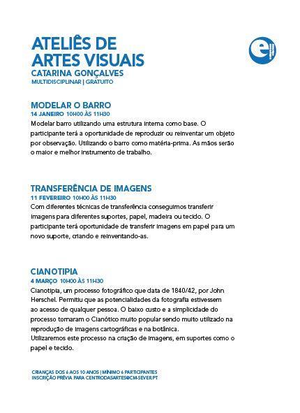 ACMSV-jan.,fev.,mar.'17-p.27-Ateliês de artes visuais Catarina Gonçalves : modelar o barro : transferência de imagens : cianotipia.JPG