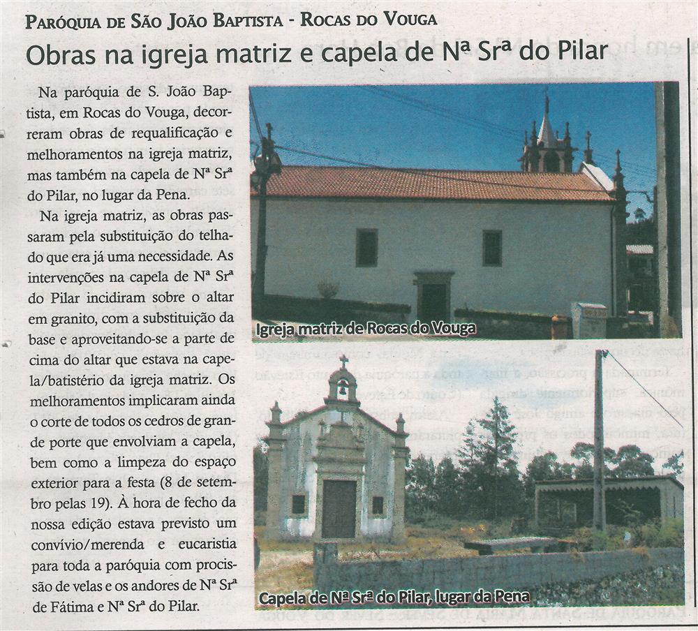TV-set.'18-p.10-Obras na igreja matriz e capela de N.ª Sr.ª do Pilar : Paróquia de São João Baptista : Rocas do Vouga.jpg