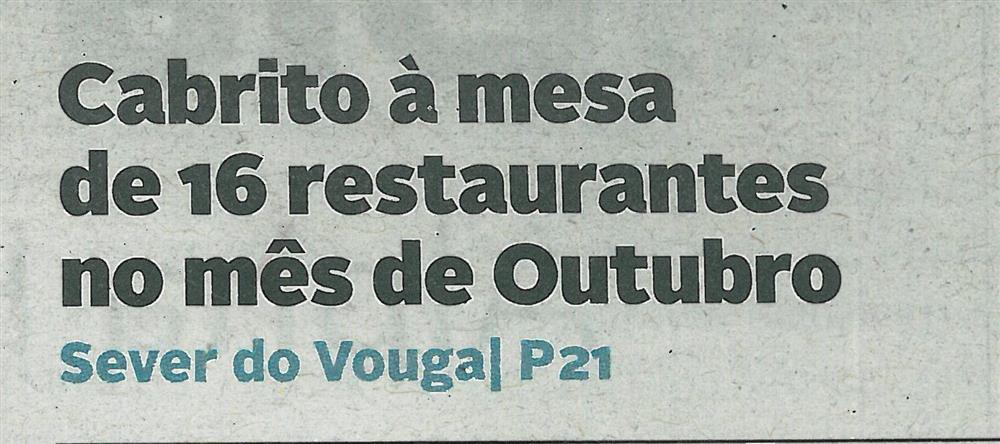 DA-06out.'18-p.1-Cabrito à mesa de 16 restaurantes no mês de outubro.jpg
